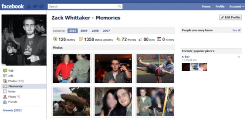 "Facebook ""Memories"", ""Outside World"" και ""Lightbox"" διέρρευσαν κατά λάθος"