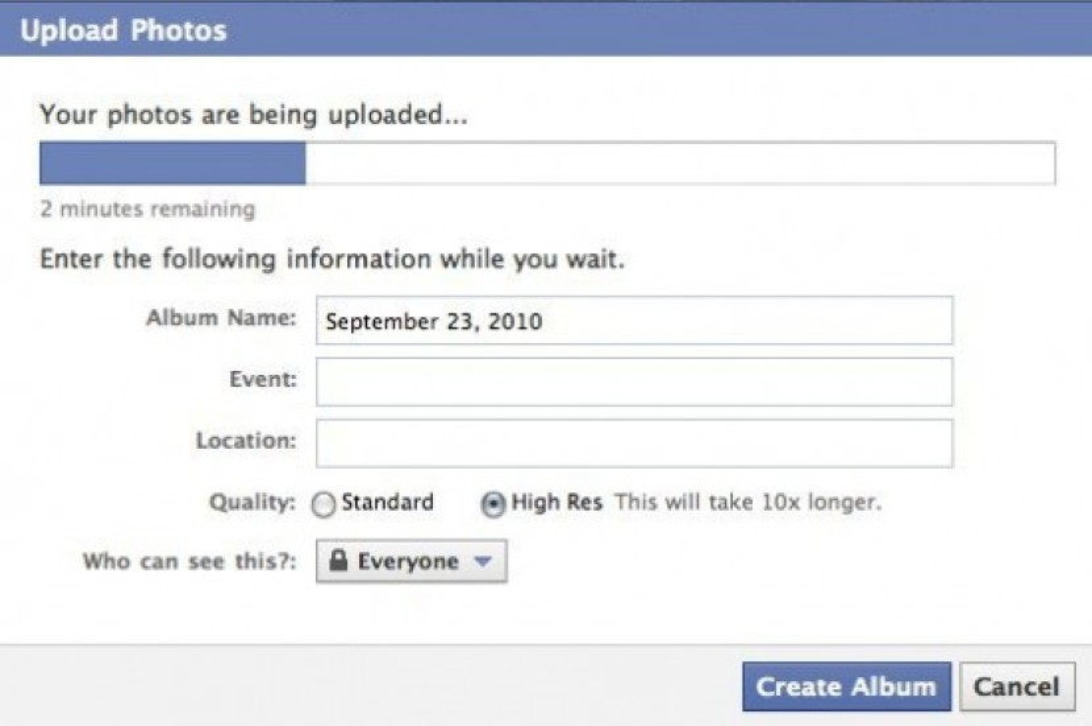 Facebook Photos: Νέος uploader, φωτογραφίες High Resolution και πολλαπλό tagging!