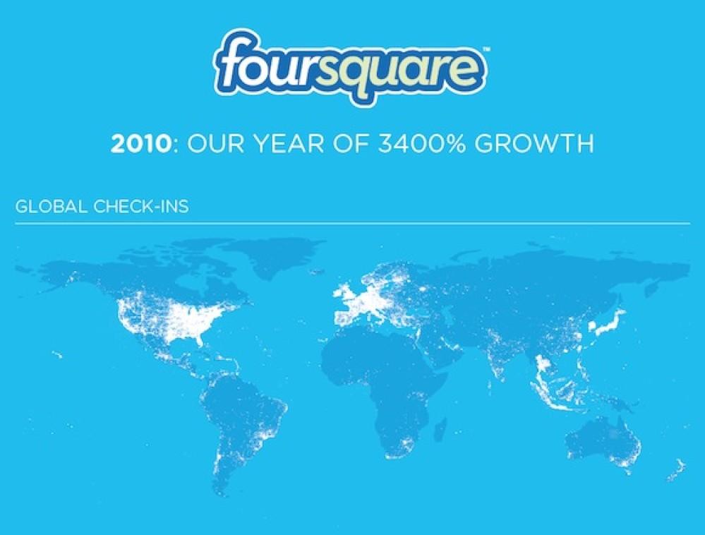 Η επανάσταση του Foursquare! [Infographics]