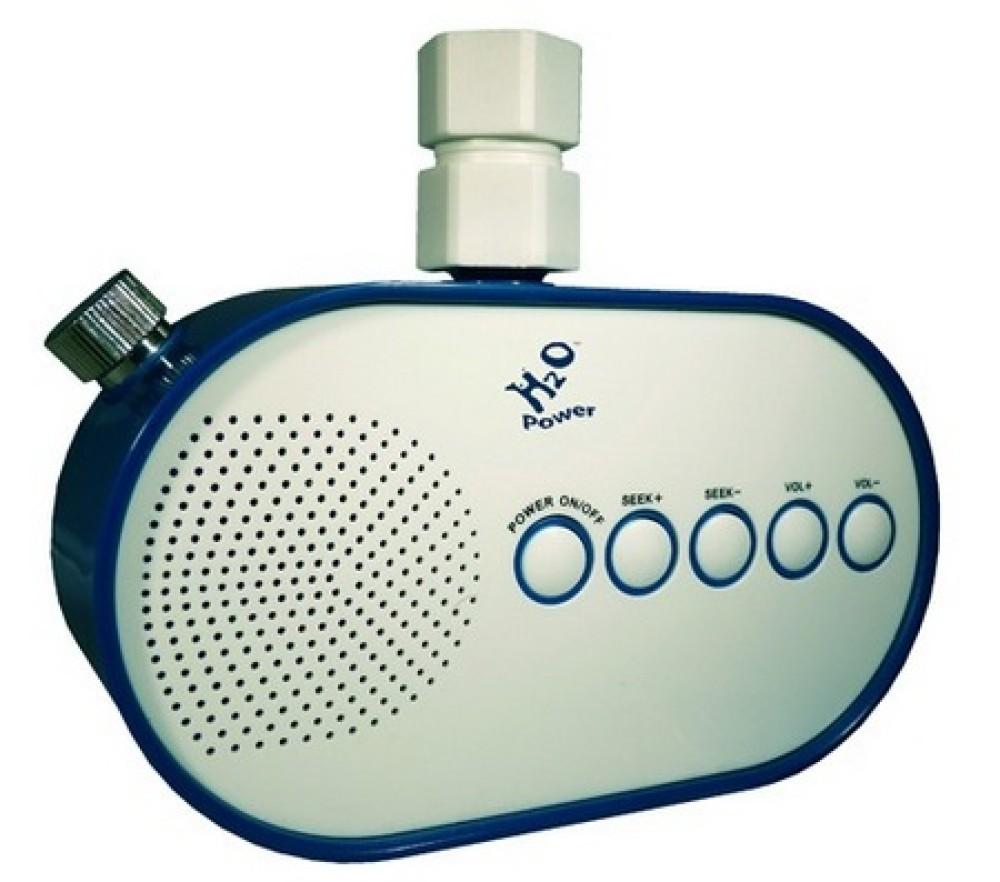 H2O Shower Radio: Το πρώτο ραδιόφωνο που τροφοδοτείται με νερό!