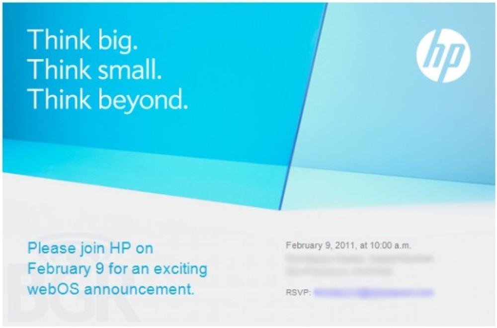 webOS event από την HP στις 9 Φεβρουαρίου, έρχονται τα PalmPad tablets;