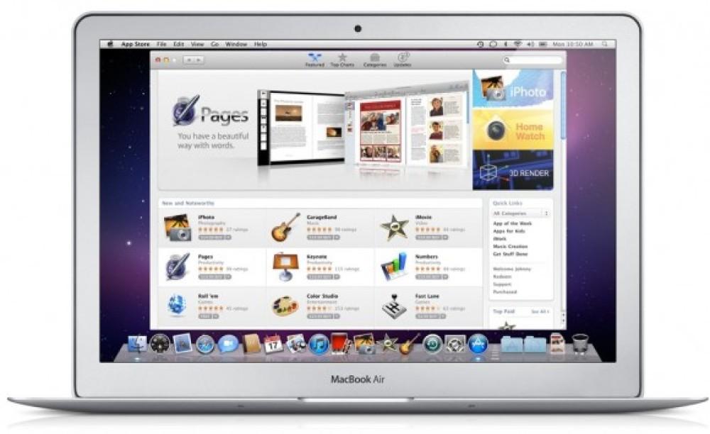 Mac App Store: 1 εκατομμύριο downloads σε μία ημέρα!