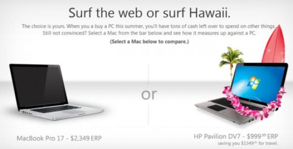 """Η Microsoft επιτίθεται στην Apple με τη διαφημιστική καμπάνια """"Do the Math""""!"""