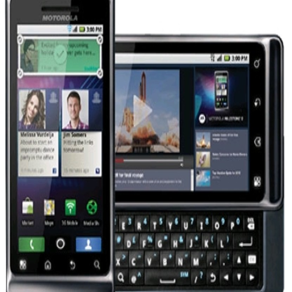 Motorola Milestone 2: Από 18 Οκτωβρίου σε τιμή €559.99