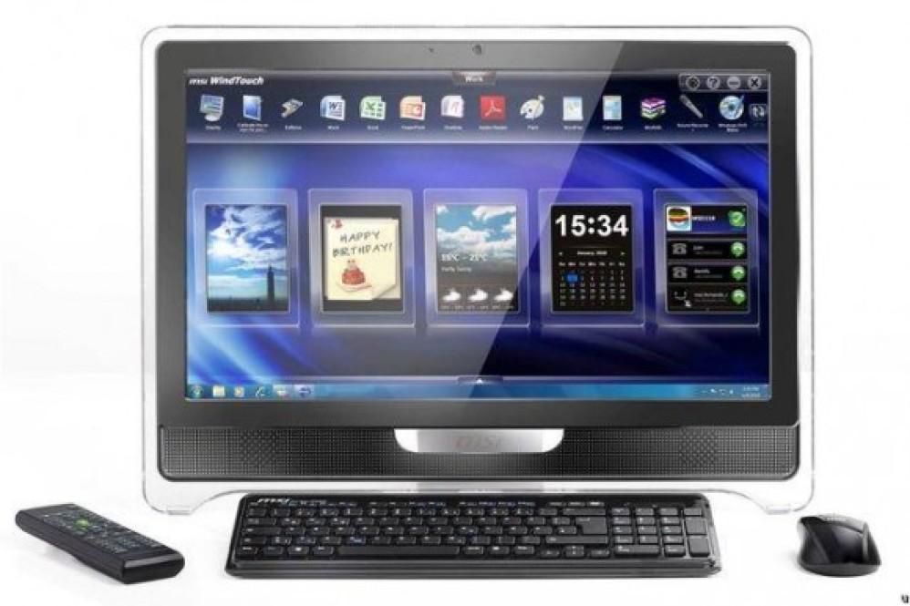 MSI Wind Top AE2050, AE2210 και AE 2410 AiO Desktop PCs επίσημα από την CES 2011