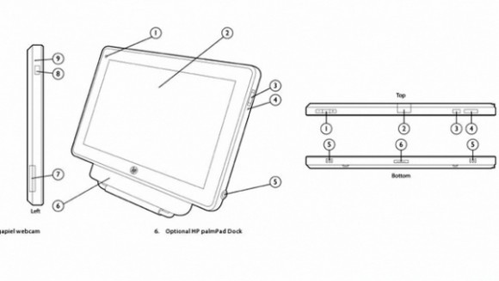 HP PalmPad webOS tablets: Ετοιμάζονται για την CES 2011