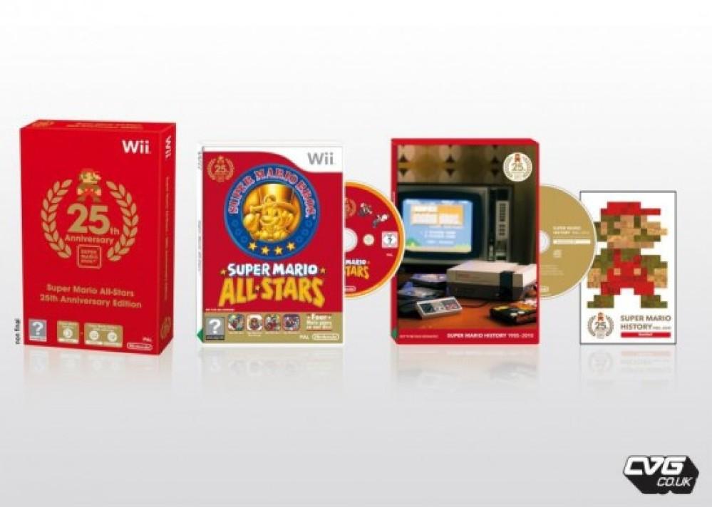 Super Mario All-Stars και Wii Remote Plus στο επετειακό κόκκινο Nintendo Wii!