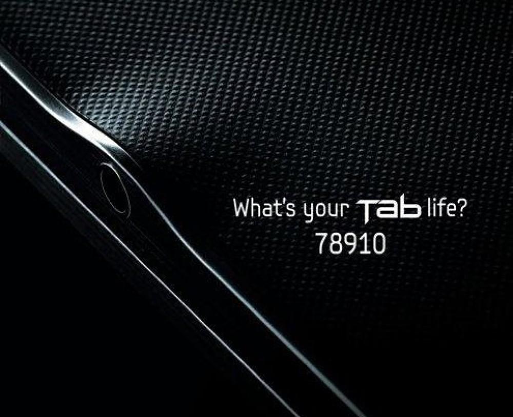 Samsung Galaxy Tab 8.9'' σε φωτογραφία teaser! Λεπτότερο από το iPad 2;