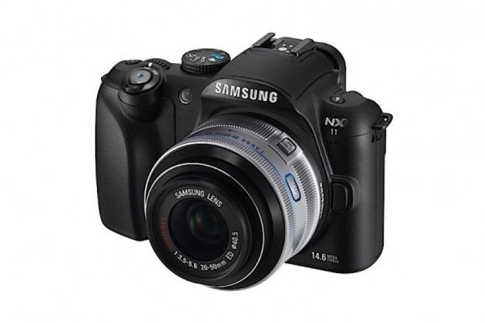 Samsung NX11 Mirrorless Camera με φακούς i-Function!