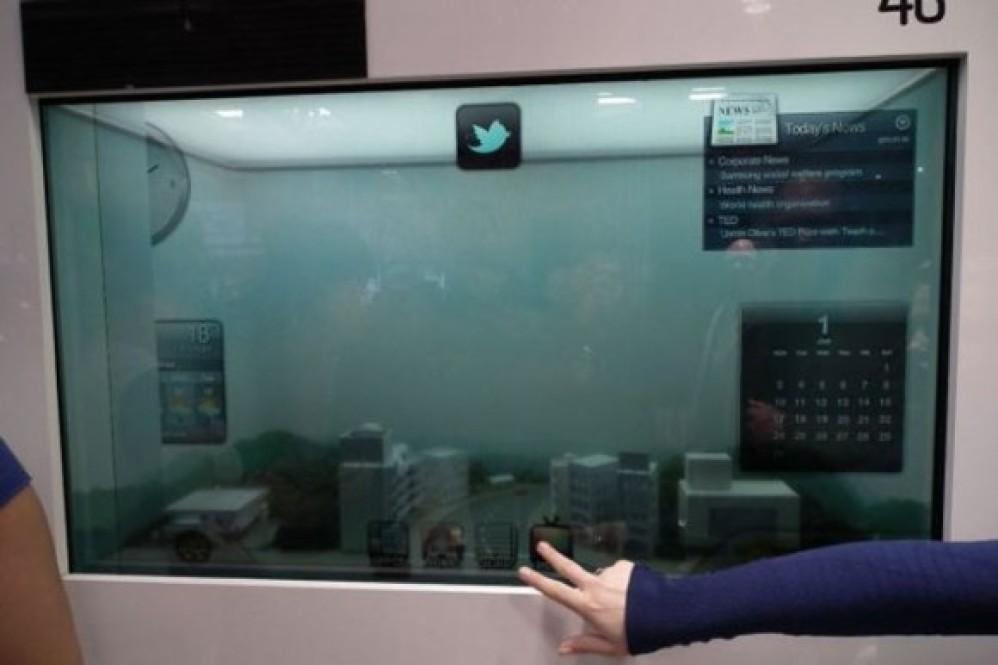 Samsung 22'' LCD transparent: Ξεκίνησε η μαζική παραγωγή των διάφανων οθονών!