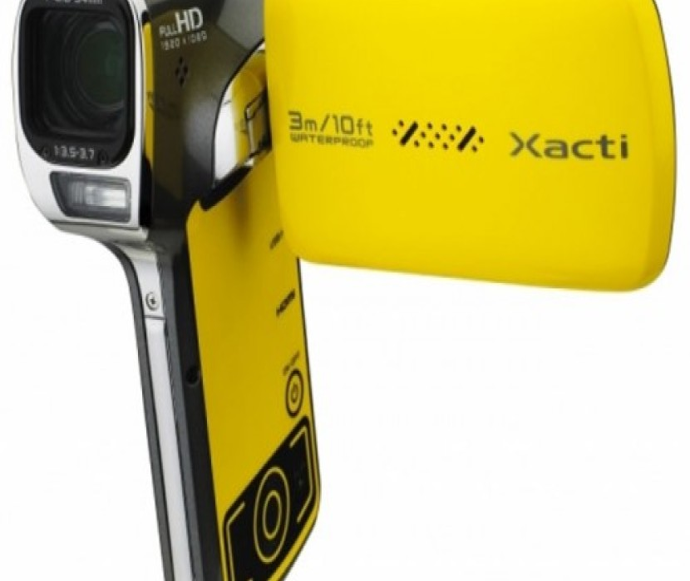 Νέα αδιάβροχη βιντεοκάμερα Sanyo Xacti VPC-CA102YL
