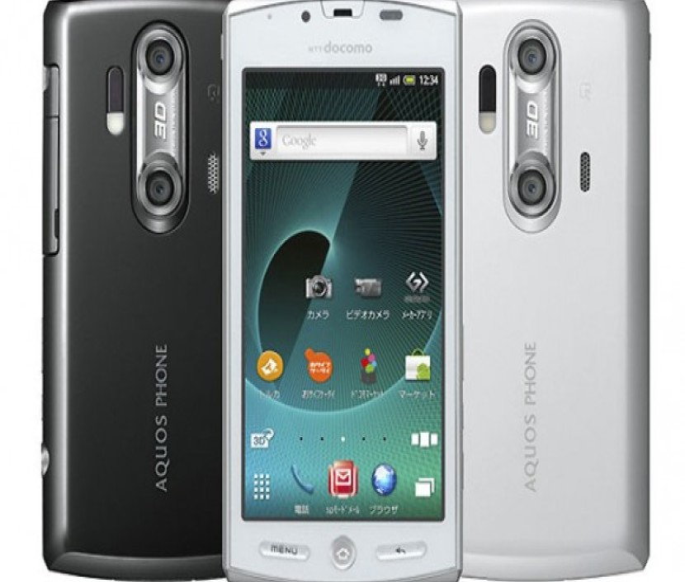 Sharp Aquos Phone SH-12C: Με ανάλυση qHD, 3D κάμερες και Gingerbread!