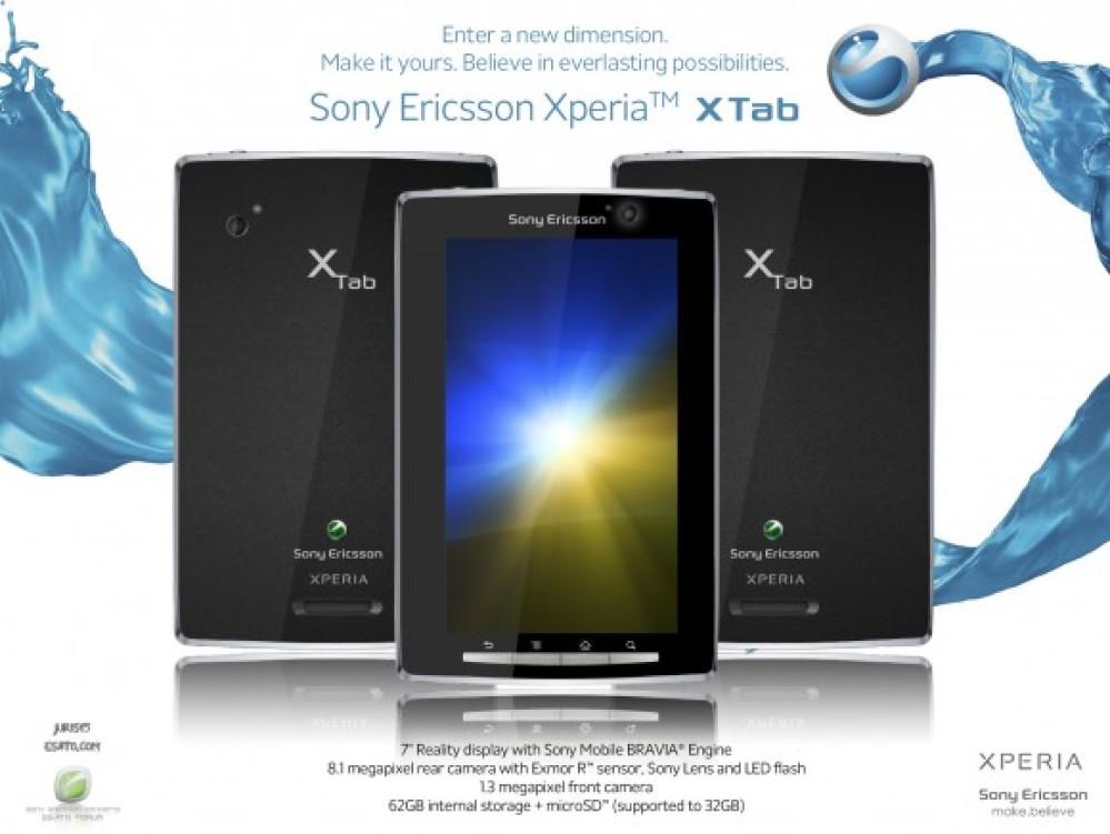 Sony Ericsson Xperia X Tab Concept