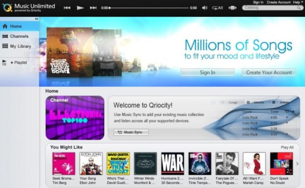 Sony Music Unlimited: Εγκαίνια με 6 εκατομμύρια τραγούδια για τον ανταγωνιστή του iTunes!