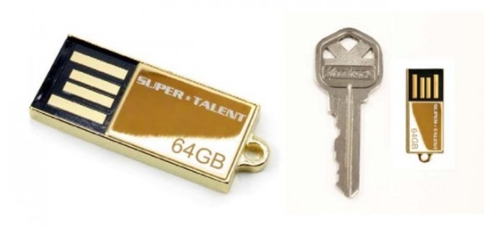 Το μικρότερο USB flash 64GB από τη Super Talent