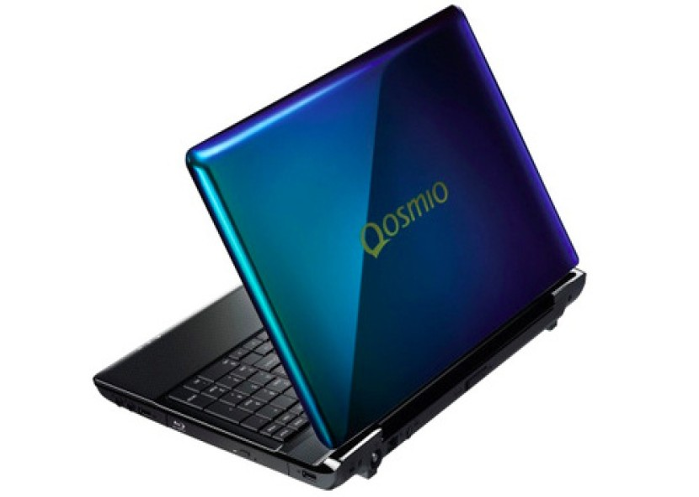 Toshiba Qosmio T750: Το πρώτο laptop στον κόσμο που αλλάζει χρώμα!