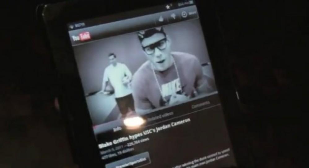 Vizio VIA Plus 8'' Android Honeycomb tablet με παρουσιαστή τον Blake Griffin!