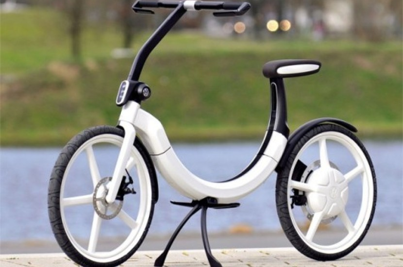 Volkswagen Presents Folding Electric Bicycle Concept