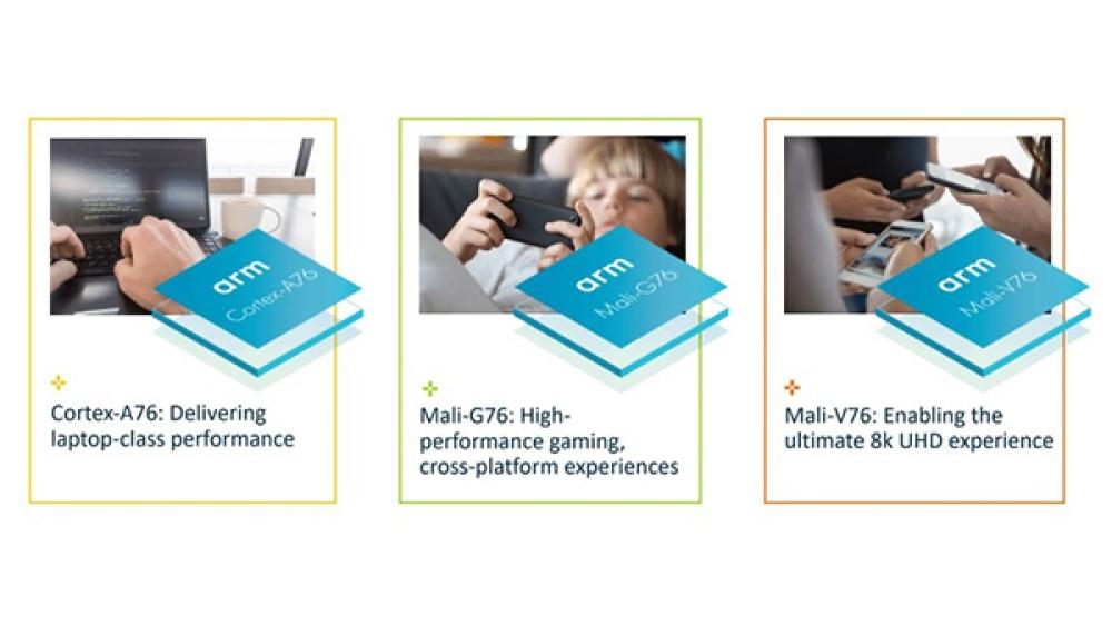 ARM: Ανακοίνωσε τους πρώτους πυρήνες Cortex-A76 στα 7nm και τον επεξεργαστή γραφικών Mali-G76 για τα smartphones του 2019