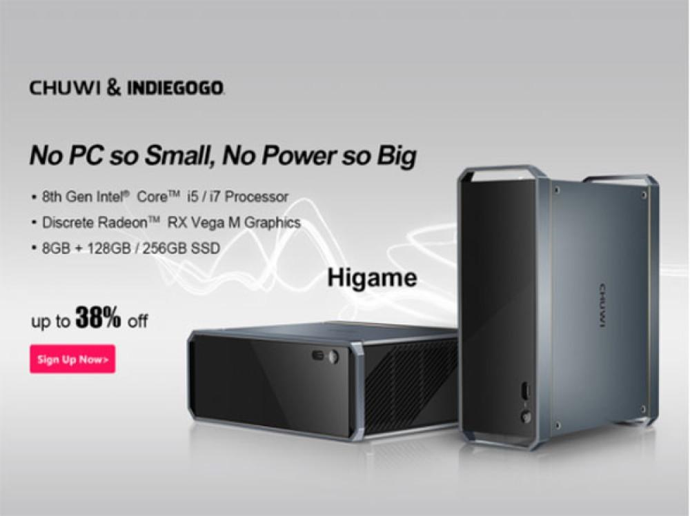 Chuwi HiGame: Μεγάλες εκπτώσεις για το gaming mini PC της εταιρείας σε όσους στηρίξουν την καμπάνια στο Indiegogo