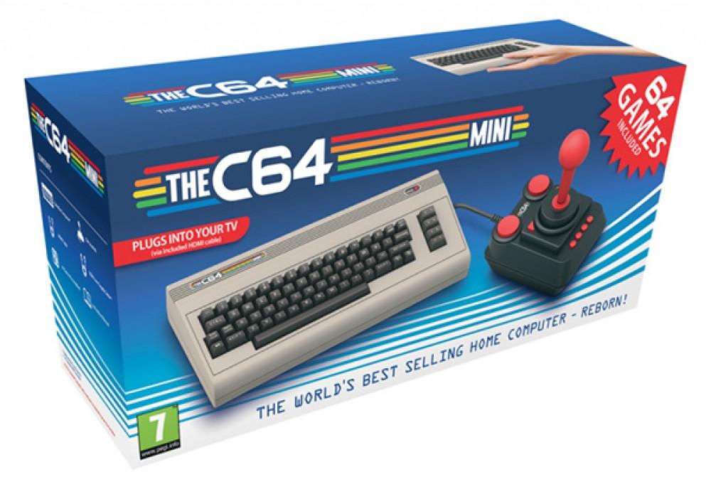 Commodore 64 Mini: Έρχεται στις αρχές του 2018 με πολλά προεγκατεστημένα παιχνίδια και joystick