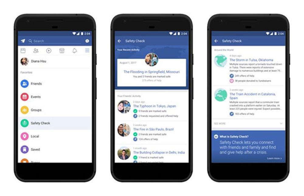 """Η λειτουργία Safety Check του Facebook """"μονιμοποιείται"""" σε Mobile αλλά και Web"""
