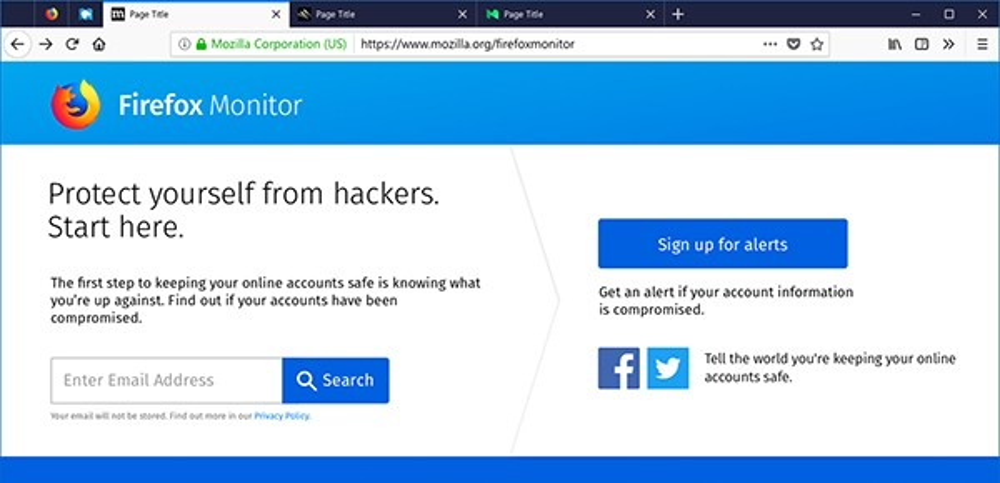 Firefox Monitor: Το νέο εργαλείο της Mozilla θα σε ενημερώνει αν ο λογαριασμός σου έχει παραβιαστεί