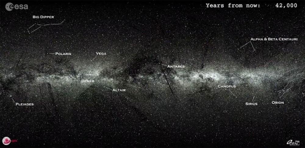 Πως θα φαίνεται ο νυχτερινός ουρανός σε 5 εκατ. χρόνια από σήμερα [Video]