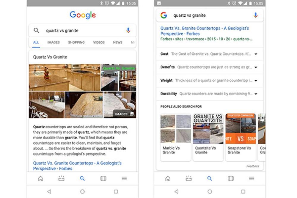 Google Search: Τώρα σου εμφανίζει αυτόματα παρεμφερή θέματα σχετικά με τον όρο αναζήτησης