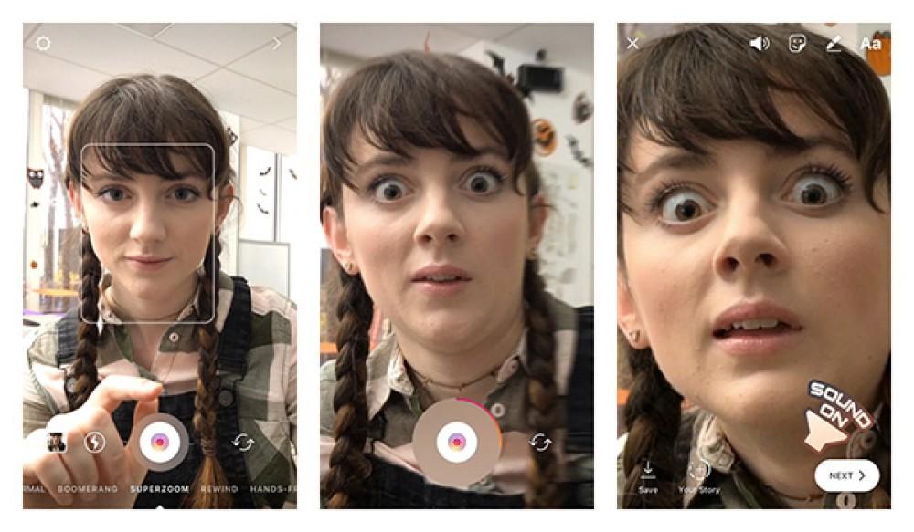 Instagram: Η νέα λειτουργία Superzoom για να φτιάχνεις δραματικά close-ups