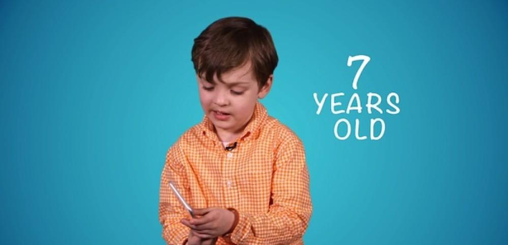 7 παιδάκια επιλέγουν μεταξύ των νέων iPhone 6 και Galaxy S6 [Video]