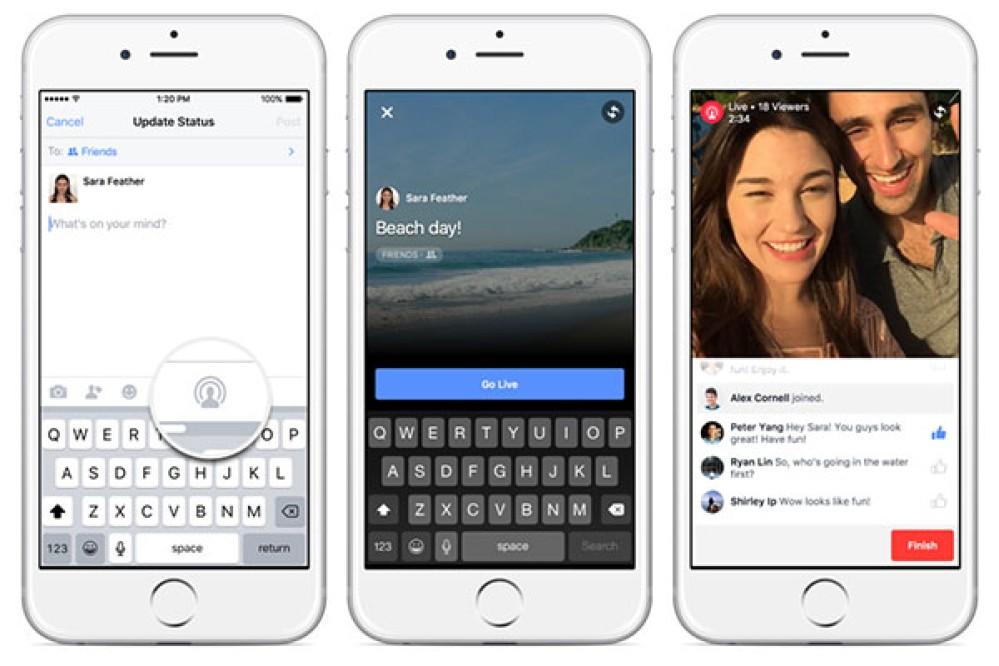 Facebook Live Video: Νέα λειτουργία για ζωντανή αναμετάδοση [Videos]
