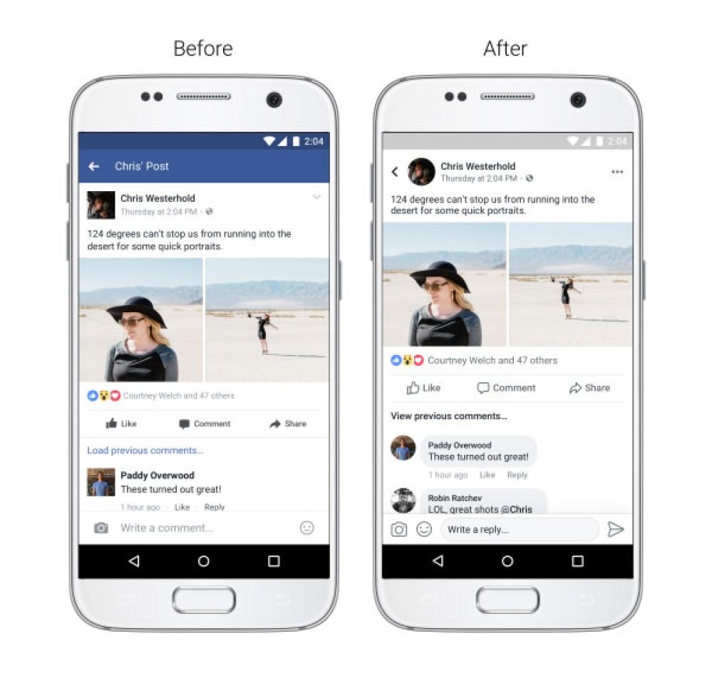 Η Facebook παρουσιάζει μεγάλες αλλαγές στο News Feed και νέες λειτουργίες για την κάμερα