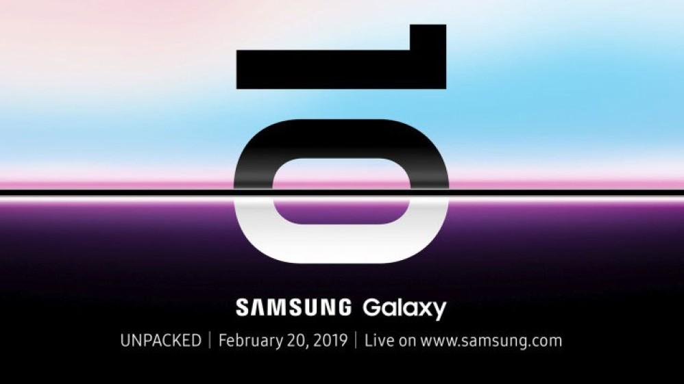 Επίσημο! Το Samsung Galaxy S10 παρουσιάζεται στις 20 Φεβρουαρίου