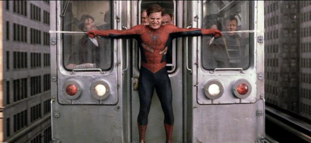Επιστημονική μελέτη εμβαθύνει στη σκηνή που ο Spiderman σταματά το τρένο