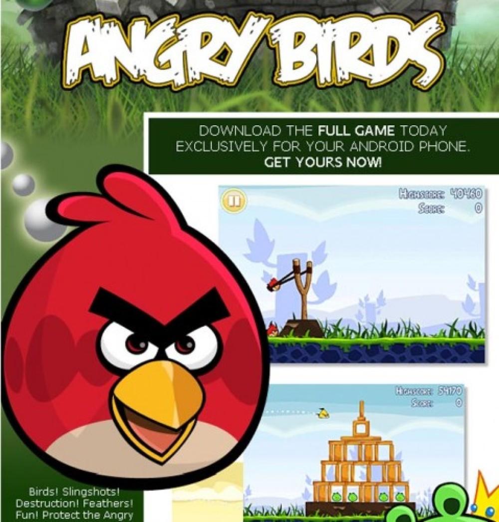 Angry Birds για Android, διαθέσιμη η πλήρης έκδοση!