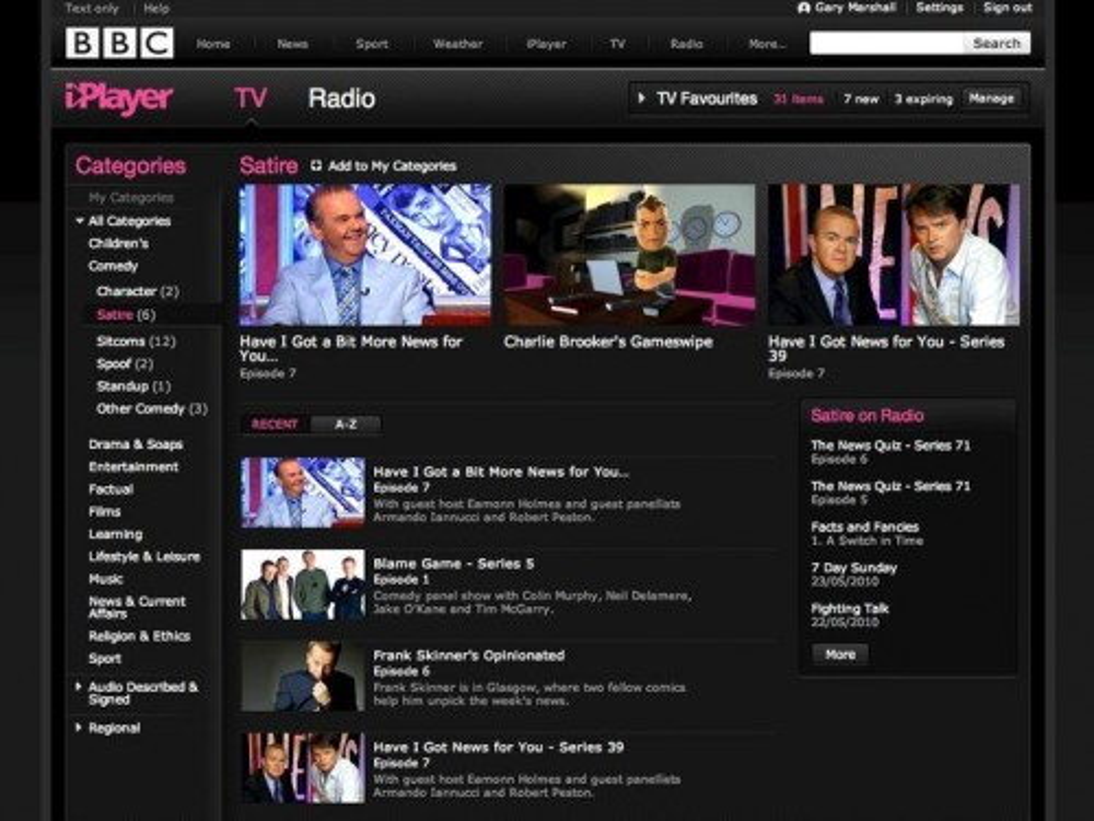 BBC iPlayer για όλο τον κόσμο από το 2011!