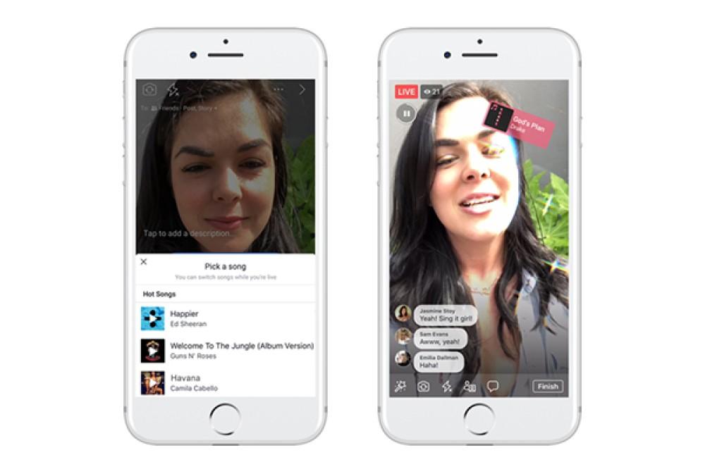 Facebook: Φέρνει επιλογή Lip Sync και δυνατότητα προσθήκης μουσικής στα videos και στα Stories [Video]