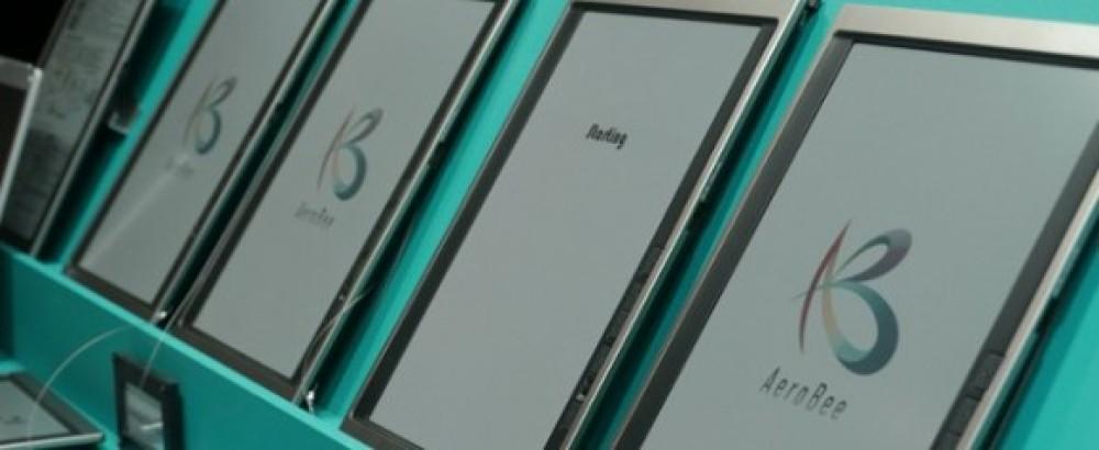 Bridgestone AeroBee: Έγχρωμη οθόνη e-paper για tablets! [video]