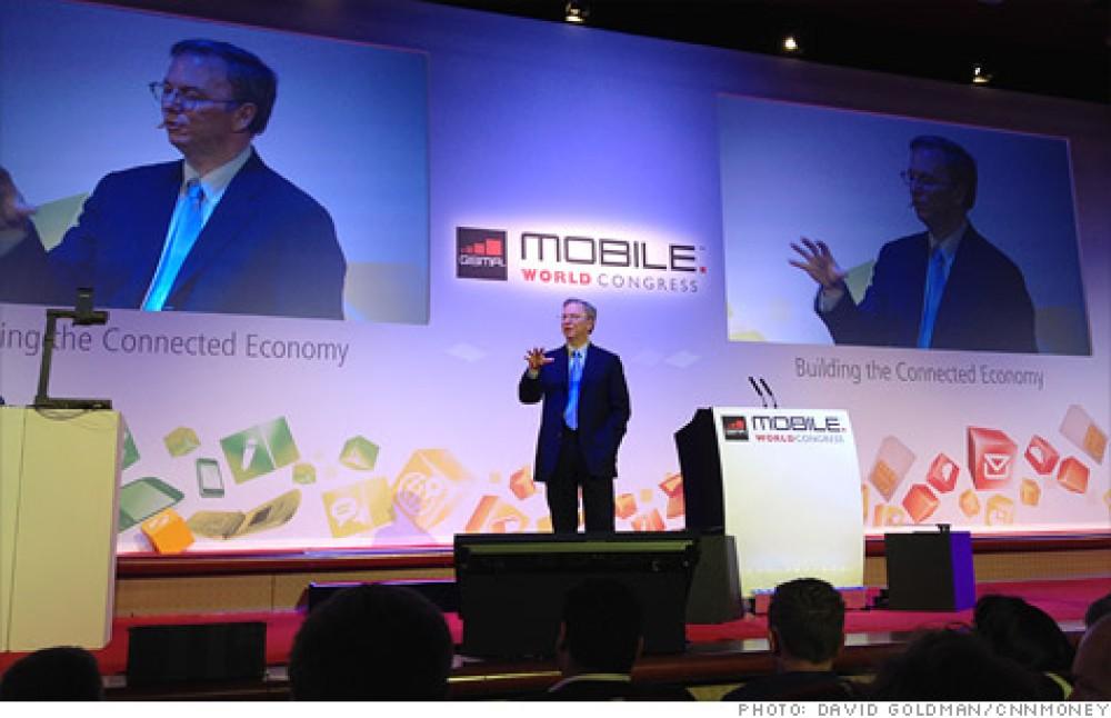Oι σημαντικότερες δηλώσεις του Eric Schmidt της Google στην MWC 2012