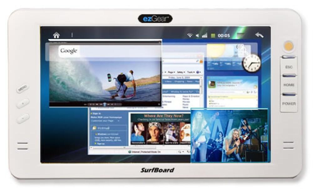 Surfboard 700 tablet από την ezGear