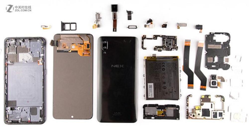 "Vivo NEX: Η ""εγχείρηση"" του πρωτοποριακού smartphone αποκαλύπτει τα μυστικά του [Pics]"