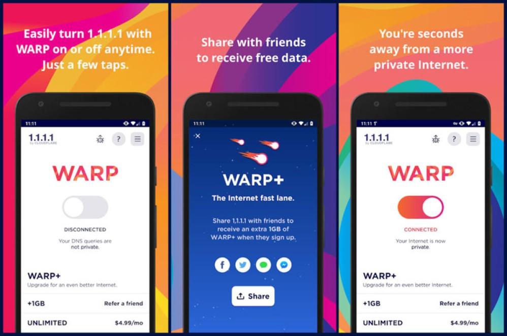 Cloudflare Warp VPN: Διαθέσιμη για όλους η δωρεάν υπηρεσία VPN σε Android και iOS