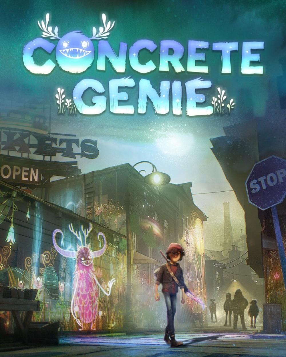 Concrete Genie: Διαθέσιμο με Ελληνικό μενού και υπότιτλους!