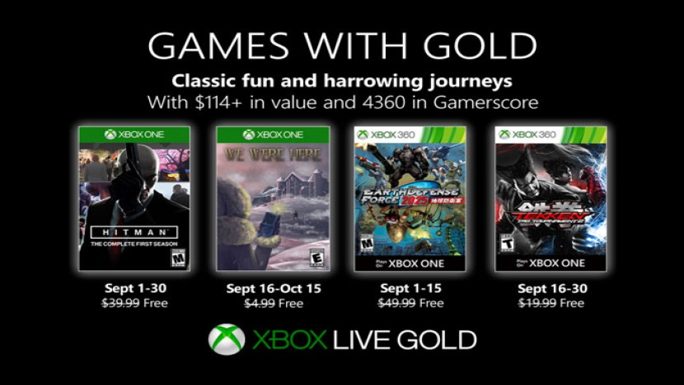 Games with Gold Σεπτέμβριος 2019: Αυτά είναι τα δωρεάν παιχνίδια