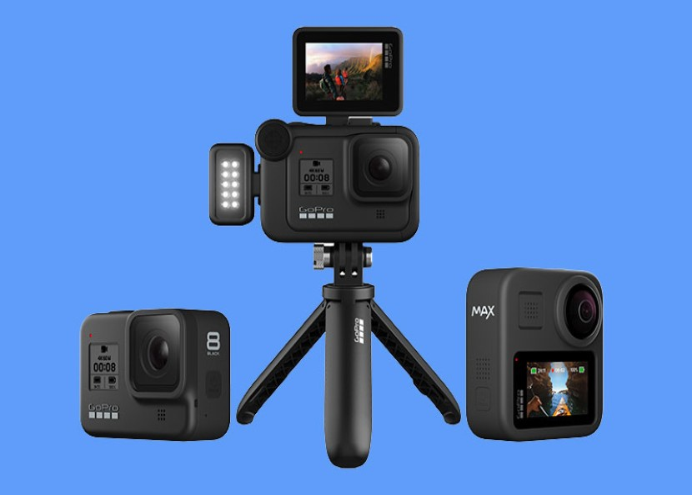 GoPro HERO 8 και GoPro MAX: Αυτές είναι οι νέες action κάμερες της εταιρείας