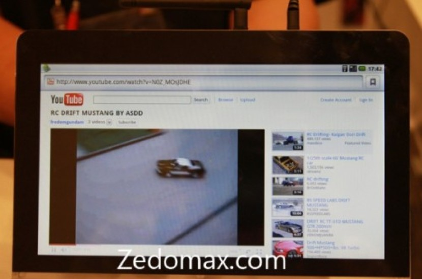 Adobe's Android Tablet Prototype Supports Flash