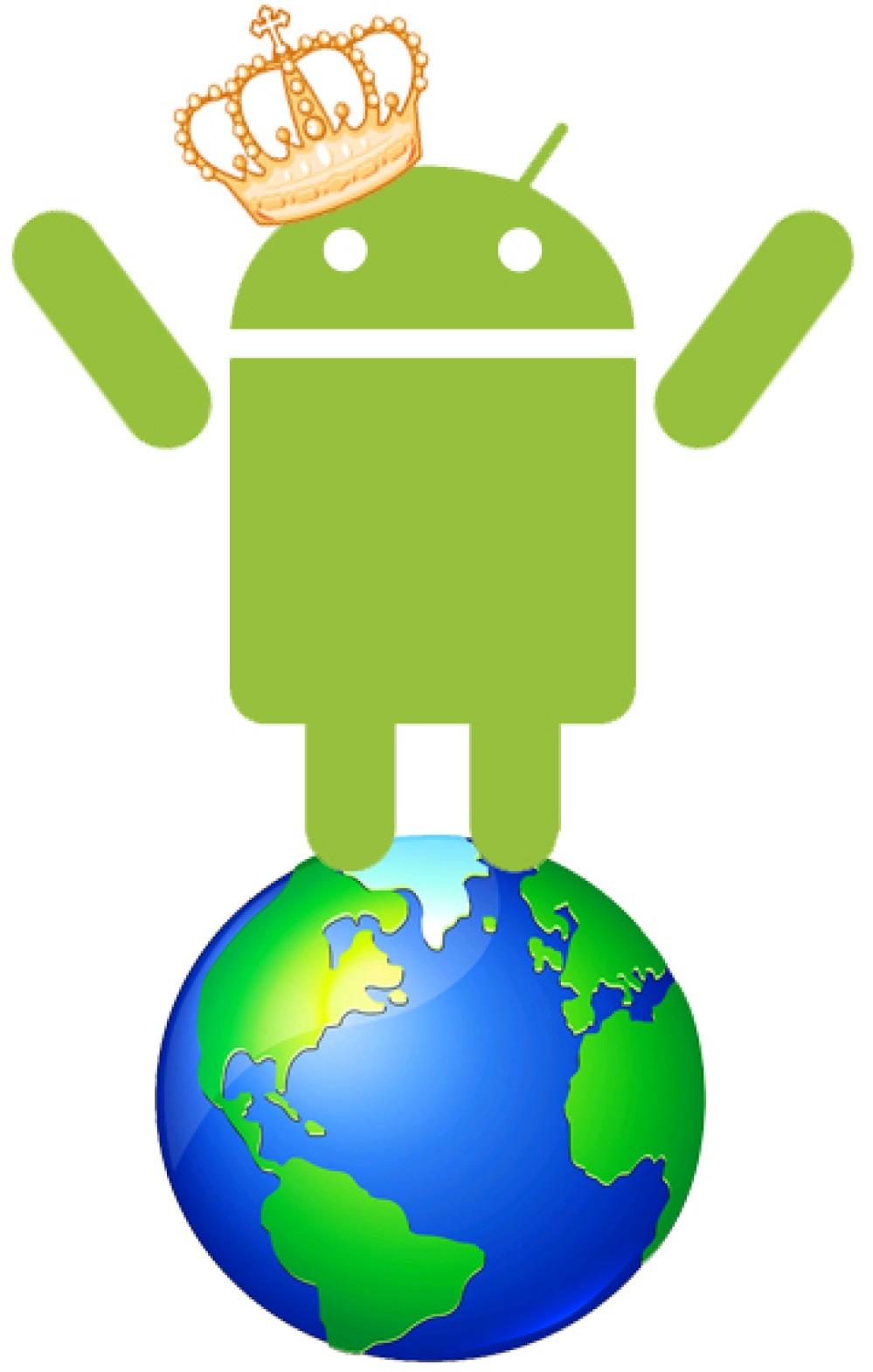 Πρώτο το Android σε όλες τις αγορές smartphones του κόσμου!