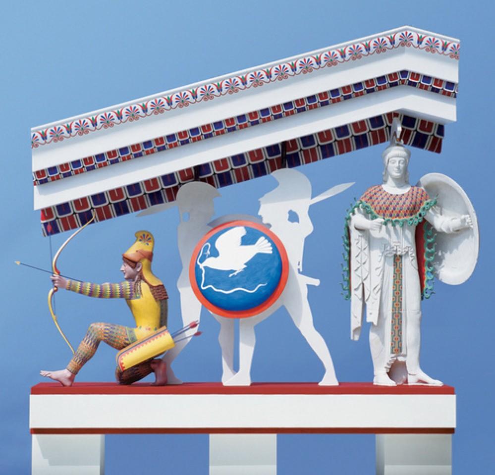 Το υπεριώδες φως μας δείχνει την πραγματική μορφή των αρχαίων Ελληνικών αγαλμάτων!