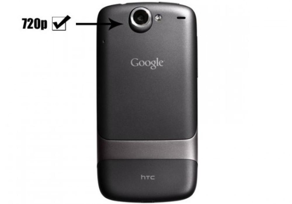 Nexus One Gets 720p HD Video Recording